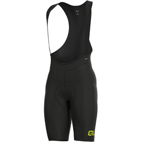 Alé Cycling R-EV1 Pro Race Bib Shorts Men black-yellow flou